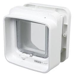 Trixie Дверца для кошки SureFlap DualScan, 21х21см, белая артикул 38540. Снимается с производства