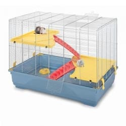 Имак клетка для грызунов RAT 80 MID, пепельно-синий, 80х48,5х63см