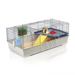 Имак клетка для кроликов и мор.свинок RONNY 120, серый, 120х60х46,5см