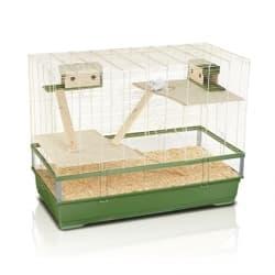 Имак клетка для крыс PLEXI 120 MID WOOD, зеленый, 120х60х93см