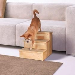 Трикси Лесенка для собак, 40х38х45 см, деревянная, арт.3943