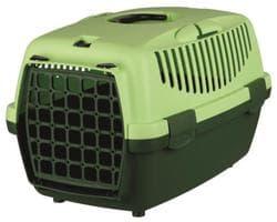 Trixie Переноска для собак Capri 1, XS 32х31х48 см, артикул 39814 тёмно-зелёный/светло-зелёный