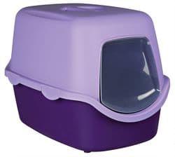Trixie Туалет для кошек Vico, 40×40×56 cм, арт.40274-лиловый