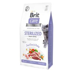 Брит 2кг Care Cat GF Sterilized Weight Control для стерилизованных кошек Контроль веса 540792