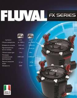 Внешний фильтр для аквариумов Fluval FX4