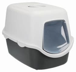 Trixie Туалет для кошек Vico, 40×40×56 cм, арт.40271-серый