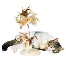 Trixie Игрушка для кошки, сизаль/перья, 30см, арт.40721
