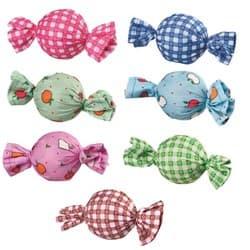 "Trixie Набор игрушек ""Конфетки - погремушки"", ткань, 48 шт., ф 4 см, арт.4088"