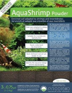 PRODIBIO Грунт для креветок и беспозвоночных AquaShrimp Powder 0,6-1,2мм, 3л