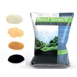 Песок декоративный Prodibio Relief Series S, белый, 7,5кг