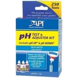 API рН Тест Кит - Набор для измерения и изменения уровня pH в пресной воде Freshwater Deluxe pH Test Kit