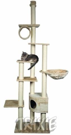 Trixie Домик для кошки Madrid бежевый 43901