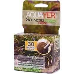 Удобрение для аквариумных растений AQUAYER Таблетки Железо плюс 30 шт. (большие)