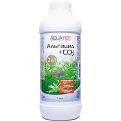 AQUAYER средство от водорослей в аквариуме Альгицид с СО2, 1 L
