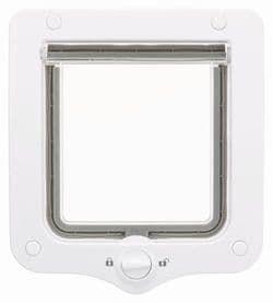 Trixie Дверца для кошки 2-Way, 20х22 см белая, арт.44201