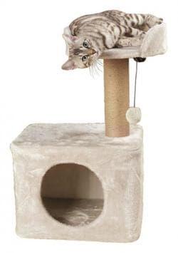 Trixie Домик-когтеточка Romy 72 см, светло-серый артикул 44419