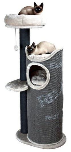 Trixie Домик для кошки Juana темно-серый-светло-серый артикул 44425