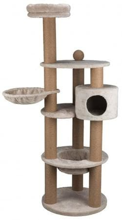 Домик для кошки Nigella, 177 см, светло-серый артикул 44429