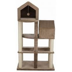 Домик для кошки Roja,165 cм, коричневый/бежевый