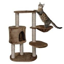 Trixie Домик для кошки Morilles коричневый артикул 44620