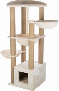 Трикси Домик-когтеточка Elia XXL, 58х58х172 см, кремовый, арт.44710