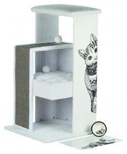 Домик Maria, 101 см,белый / серый арикул 44721