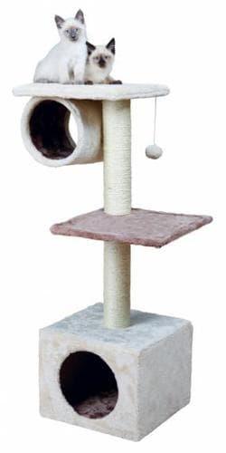 Trixie Домик для кошки Sina 36х36х106 см, кремовый капучино артикул 44811