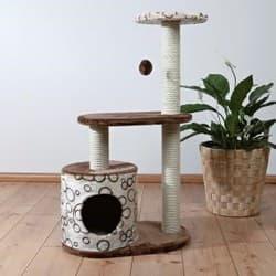 Trixie Домик для кошки Casta коричневый-беж артикул 44590