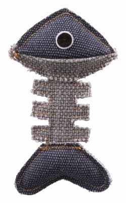 """Трикси Игрушка """"Рыбья кость"""" BE NORDIC, 13 см, полиэстер/хлопок арт.45515"""