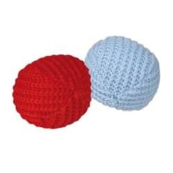 Trixie Игрушка для кошек Мяч трикотажный ф 4,5 см 2 шт., арт.45728