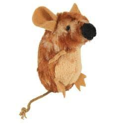 Trixie Игрушка Мышь для кошек 8см с пищалкой, арт. 45785
