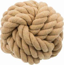 Трикси Верёвочный мяч BE NORDIC, 18 см, арт.32631
