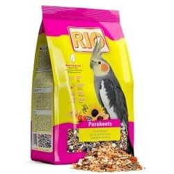 RIO корм для средних попугаев в период линьки 1000 г 8 шт.