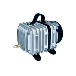 Электромагнитный поршневой компрессор в алюминиевом корпусе, 100W