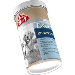8in1 Пивные дрожжи EXСEL Brewers Yeast 780 табл. для собак и кошек (Excel Brewers Yeast), арт.115717