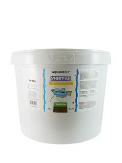 Аква Меню Унигран 10л  гранулы - ежедневный гранулированный корм для мелких и средних аквариумных рыб