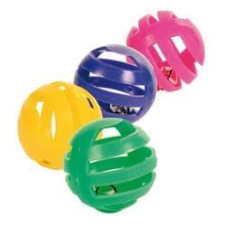 Trixie Набор пластиковых игрушек для кошки, 4 шт. артикул 4521