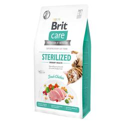 Брит 7кг Care Cat GF Sterilized Urinary Health для стерилизованных кошек Профилактика МКБ 540723