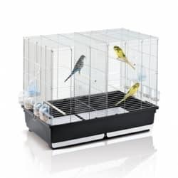 Имак клетка для птиц TASHA, оцинк./серый, 80,5х49х65см