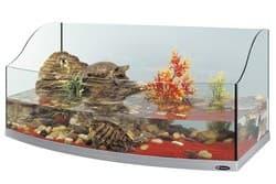 Палюдариумы для черепах FERPLAST JAMAICA 110 SCENIC серебристый полукруглый