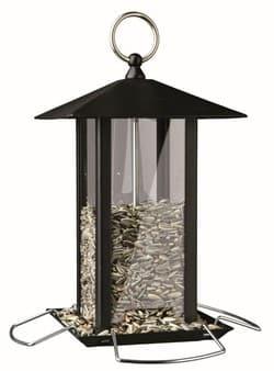 Трикси Кормушка для птиц 1,000 мл/19 х 20 х 19 см, чёрный, арт. 55621