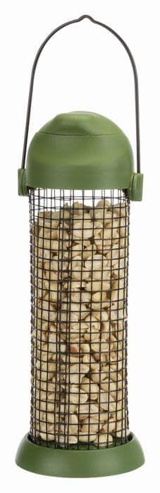 Трикси Кормушка-дозатор орехов для белок, 500 мл/22 см, зелёный, арт. 55628