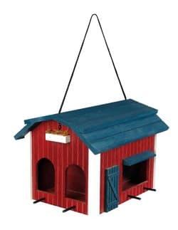 """Trixie Кормушка для птиц """"Домик"""", дерево, 24х22х32 см, арт. 55853"""