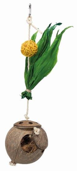 Трикси Гнездо из кокоса на сизалевой верёвке, 35 cм, арт. 58920