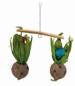 Трикси Игрушка для птиц Качели из кокоса, 30 × 50 cм, арт. 58921