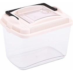 PetInn Контейнер/переноска Amber mini пластиковый (13х18х14) (1,8л)