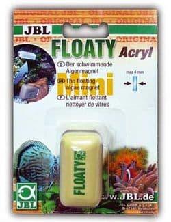 JBL Floaty Mini Acryl - Glas - Плавающий магнитный скребок для акрила и стекла толщиной до 4 мм.