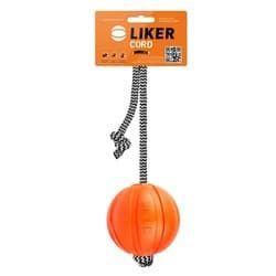 Мячик ЛАЙКЕР-7 Корд на шнуре (мячик)