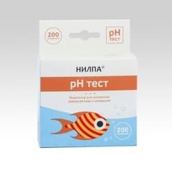 Тест для воды pH - тест для измерения уровня кислотности воды
