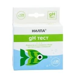 Тест для воды gH - тест для измерения общей жесткости воды